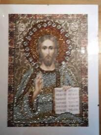 Diamond art painting, Jesus, Religious, Religion, Christianity