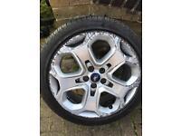 "Genuine 18"" alloy wheels"