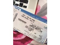 SELLING 1X JUSTIN BIEBER TICKET STANDING HYDRO THURSDAY 27th OCT
