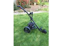 SOLD Motocaddy Explorer electric golf trolley