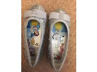 Girls size 8 princess shoes