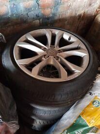 Audi TT 18 Inch Alloy Wheels