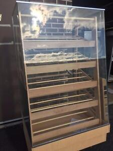 Wooden Pastry display case