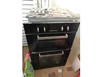 Electric hob and oven