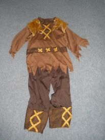 Children's Dressing up: Viking (or Scarecrow) Outfit. Ages 4-6 years.