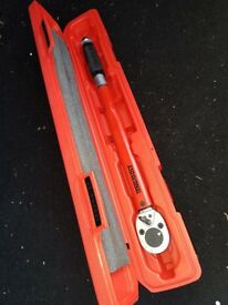 Torque Wrench Teng 40-210Nm. £25. Abbots Langley.