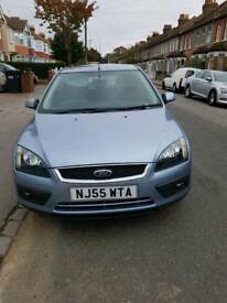 2005 blue 1.6 Ford focus