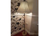 JOHN LEWIS MARBLE FLOOR LAMP