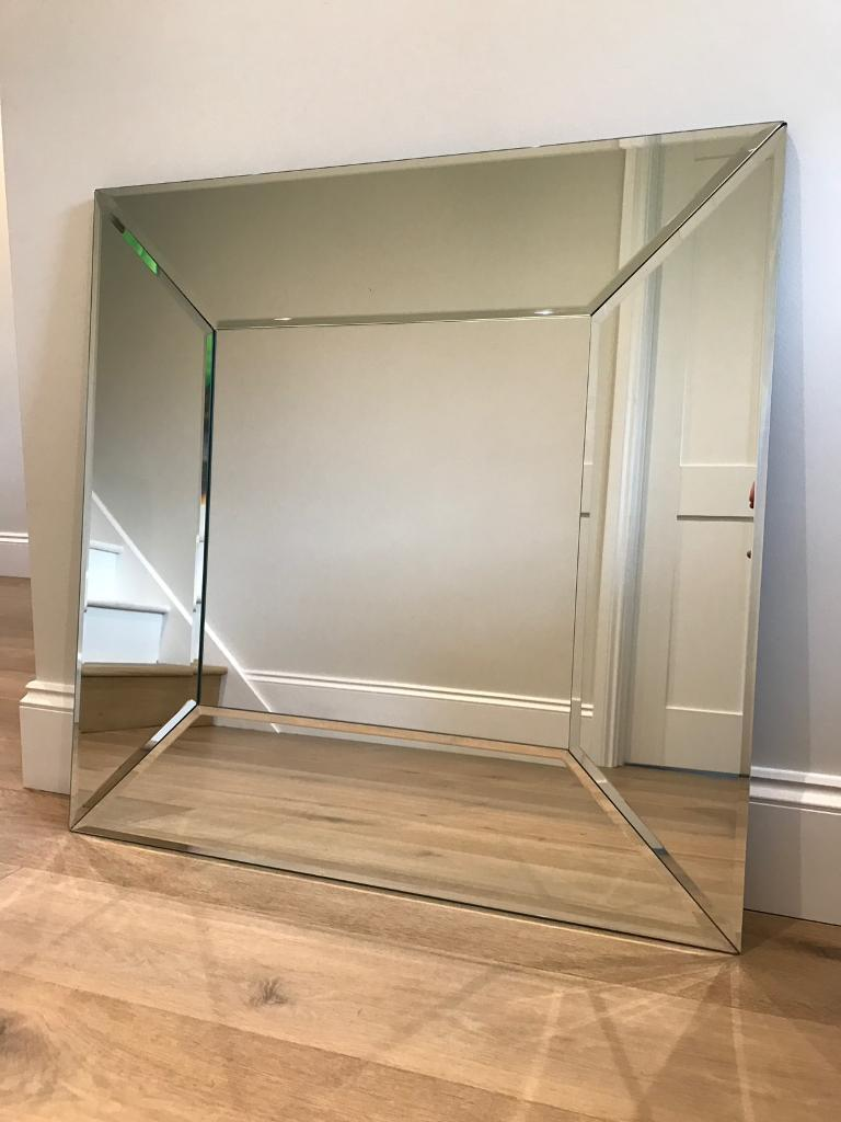 Laura Ashley Art Deco Gatsby Square mirror
