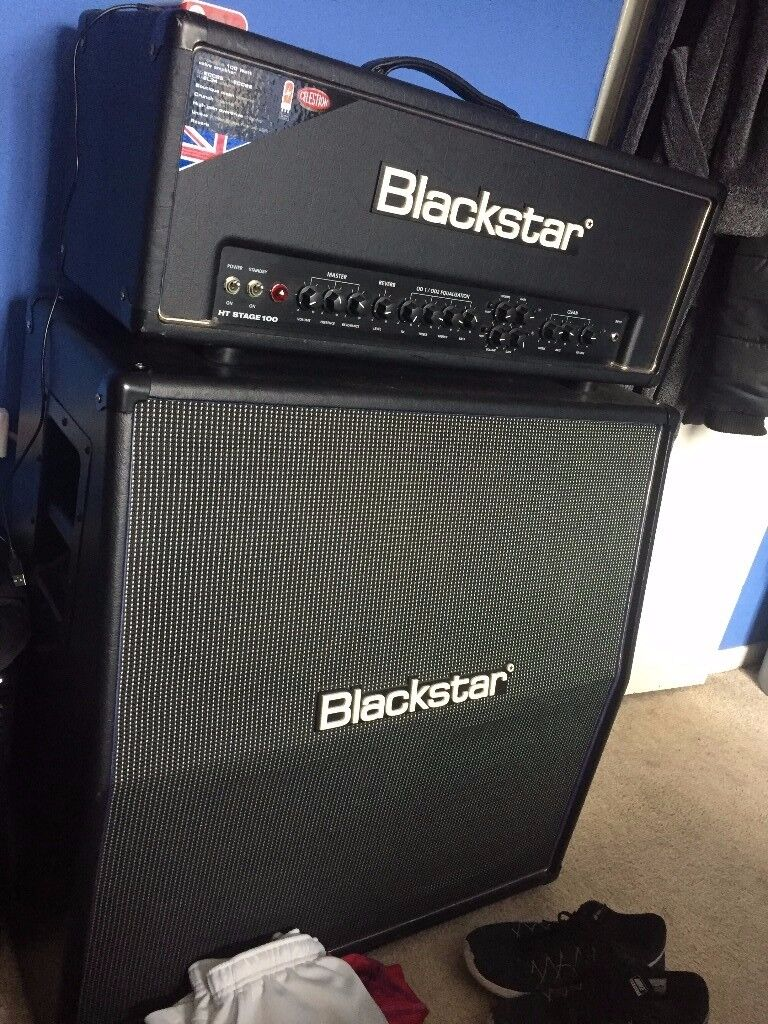 Blackstar HT-100 Stage amp head and cab - Guitar Amp Amplifier