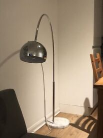 Modern Floor Lamp with Marble Base
