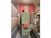 Powermatic oil/kerosene heater and tank