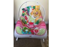 Fisher price rocker pink
