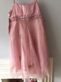 Moonson Girls Pink Dress UK size 10-11 for sale