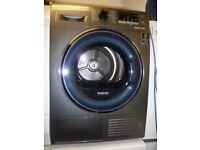 Samsung HEAT PUMP Condenser Tumble Dryer - 8 KG - Graphite Grey - A++ Rated