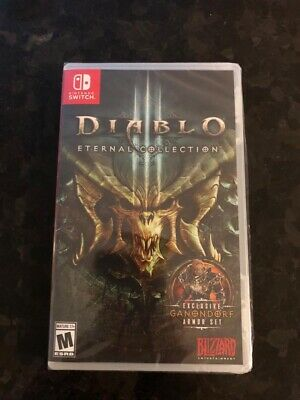 Brand New Sealed Diablo 3 Eternal Collection Nintendo Switch Diablo III NSW, used for sale  Shipping to Nigeria