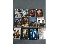 The west wing, CSI, Criminal minds, Lie to me, The mentalist,... and more DVD