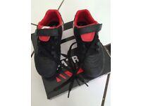 Boys rugby boots. UK size 10