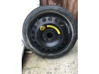 Spare wheel from Astra