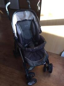 Like new Silver Cross pushchair with accessories