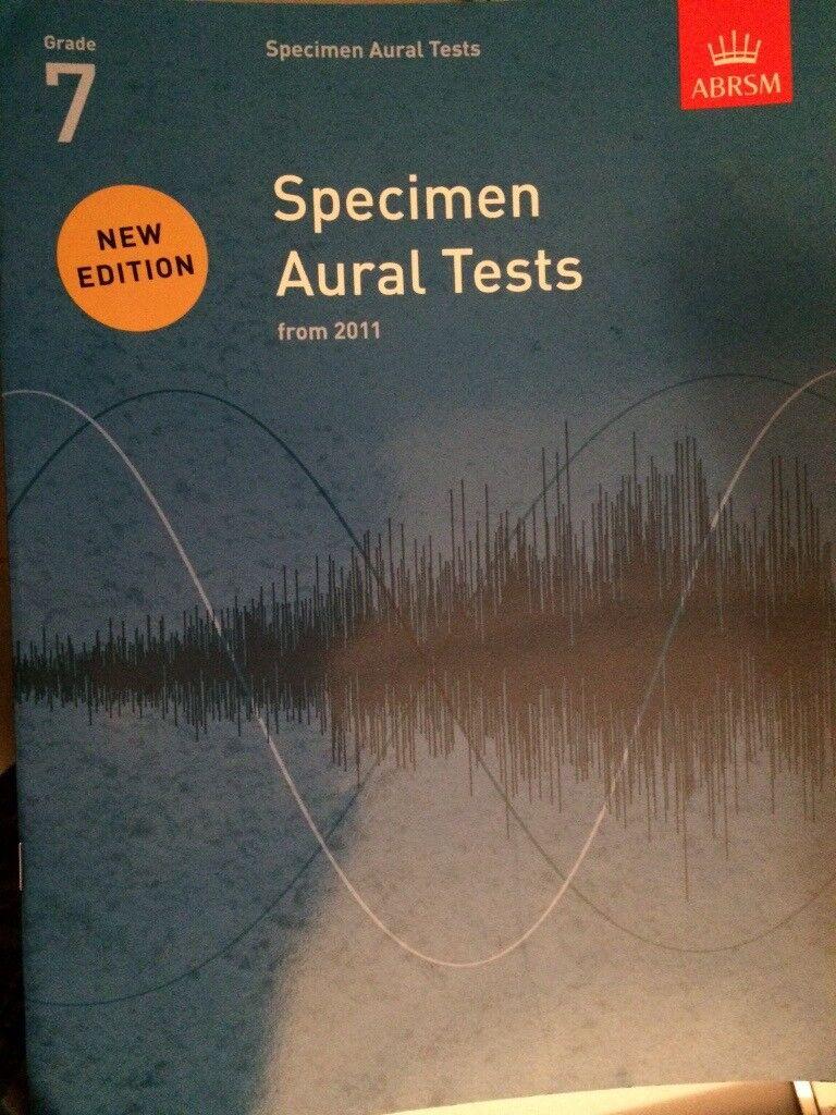 ABRSM Specimen Aural tests grade 7