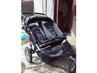 Out and About 360 Nipper double buggy