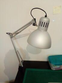 Silver Ikea Tertial Work Lamps
