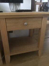 2 Wooden bedside tables form Ikea bought not long ago ideal condition