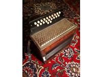 Hohner Club 3 Melodeon in C/F