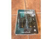 Brand New, unused Walkie Talkie 5km Range with Batteries