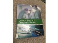 Surgical textbook- hepatobiliary and pancreatic surgery