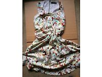 [Sale before moving] Flower print summer dress_size8