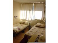 Room Share for 1 Person or Twin Room for 2 Friends in Flat Share