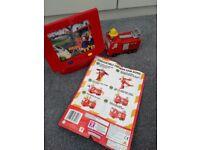 Fireman Sam TV and transformer figure toy