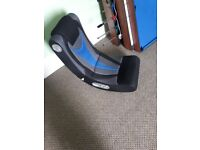 Small fabric gaming chair