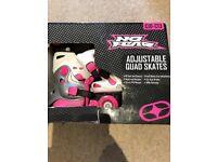 No Fear Adjustable Quad Skates