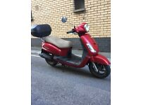 2011 Sym Fiddle 125cc Good Working Scooter £650