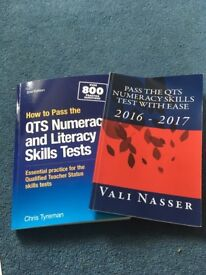 Numeracy and literacy skills test books