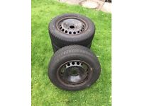 4 x Winter Tyres and Steel Rims