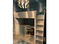 IKEA desk bunk bed