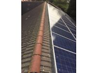 Solar Panel Guards supplied & fitted Sheffield Chesterfield Rotherham Leeds pigeon problems nesting