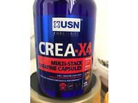 USN crea-x4 Creatine multi-stack, 120capsules