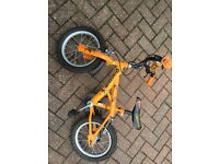 Boys Bike for sale. Would suit 3-5 yr old