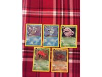 Pokemon Cards Team Rocket Dark Holos In Mint Conditionu