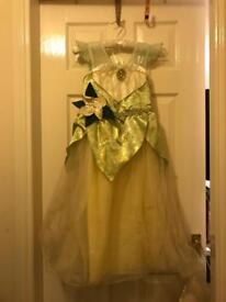 Disney's Tiana Princess Dress 7-8