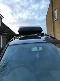 Roof box and roof bars NOW SOLD