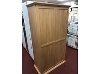 chunky wardrobe - oak