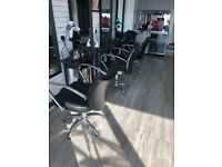 3 Salon chairs available