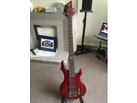ESP LTD F-255 5 String Bass