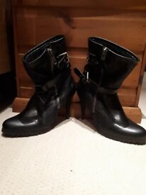 Next black boots size 6